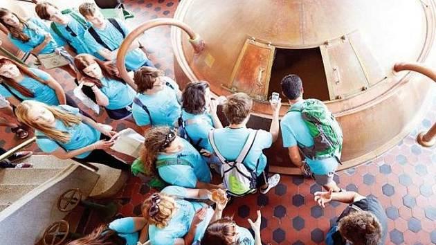 První cesta studentů vedla do pivovaru