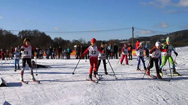Vejsplachy přivítaly lyžaře z širokého okolí
