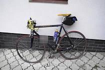 Nehoda cyklisty v Žacléři