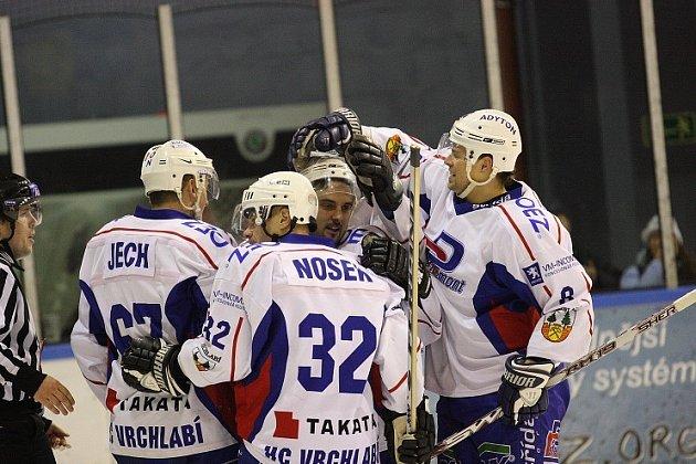 Hokejisté Vrchlabí.