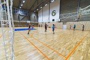 Sportovní hala trutnovského gymnázia je po sedmi měsících oprav od tohoto týdne v provozu.