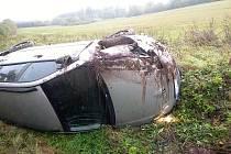 Dopravní nehoda u Stříteže