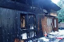 Požár psího útulku ve Dvoře Králové