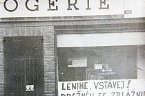 Srpen 1968 ve Vrchlabí.