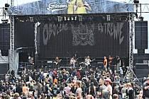 Hudební festival Obscene Extreme v Trutnově.