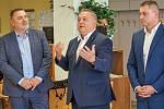 Modernizace trutnovské nemocnice za 183 milionů korun začíná. Hovoří polsanec a trutnovský starosta Ivan Adamec.
