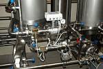 Filtrování nového piva Tambor- filtr