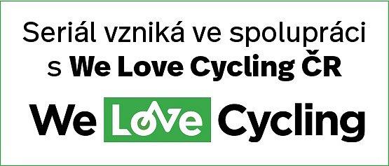 Logo spolupráce sWe Love Cycling ČR.