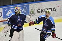 Jakub Soukup potáhne HC Stadion Vrchlabí vyřazovacími boji Chance ligy v roli brankářské jedničky.