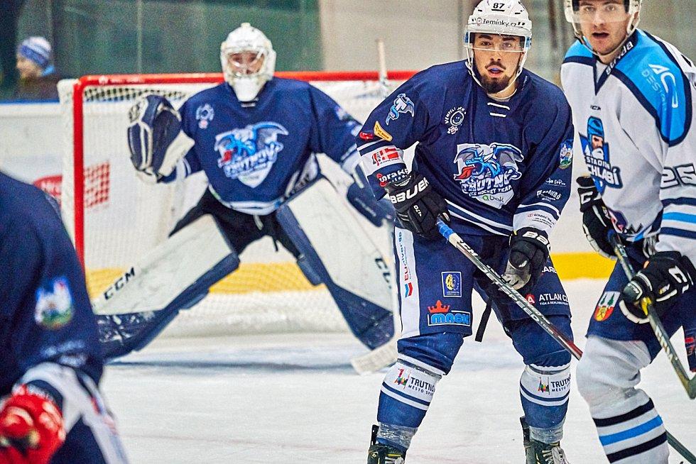 Trutnov v derby přehrál Vrchlabí těsně 2:1.