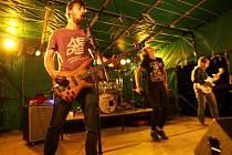 Hudební festiválek Bornfloss Rock v Žacléři.