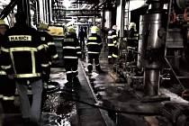Požár v Hostinném