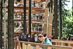 Stezka korunami stromů Krkonoše - otevření