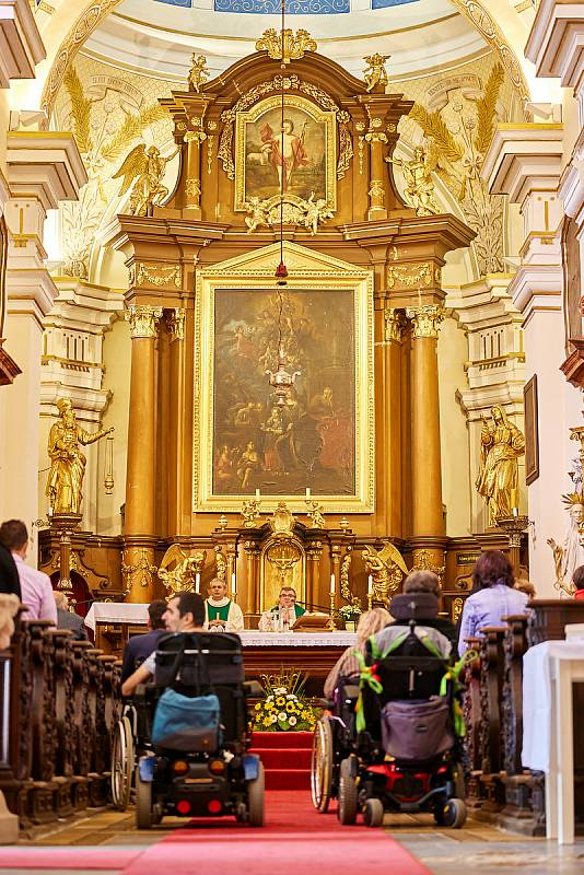 V areálu Domova sv. Josefa v Žirči se konalo v neděli Bylinkobraní.