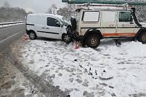 Nehoda u Mladých Buků