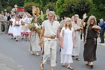 PRŮVOD MĚSTEM je každoročním tradičním zpestřením Semilského pecnu.