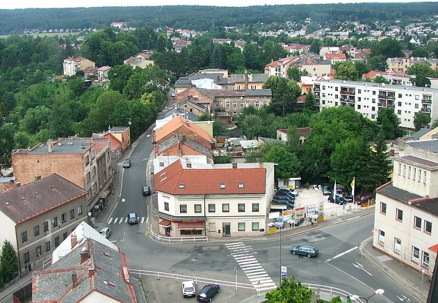 Svatojánské slavnosti - prohlídka kostela - pohled z věže