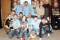 Finalisté Zimní ligy Willcapu 2010 Loko Trutnov a DC Vrchlabí.