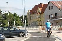 Práce na rekonstrukci Labského nábřeží ve Vrchlabí finišují.