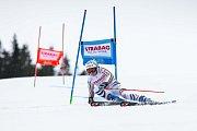 Viktoria Rebensburg. Světový pohár v lyžování ve Špindlerově Mlýně