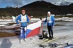 S běžkami na konci světa. Vladimír Matějka a Rudolf Špicar absolvovali závod světové série v Argentině.