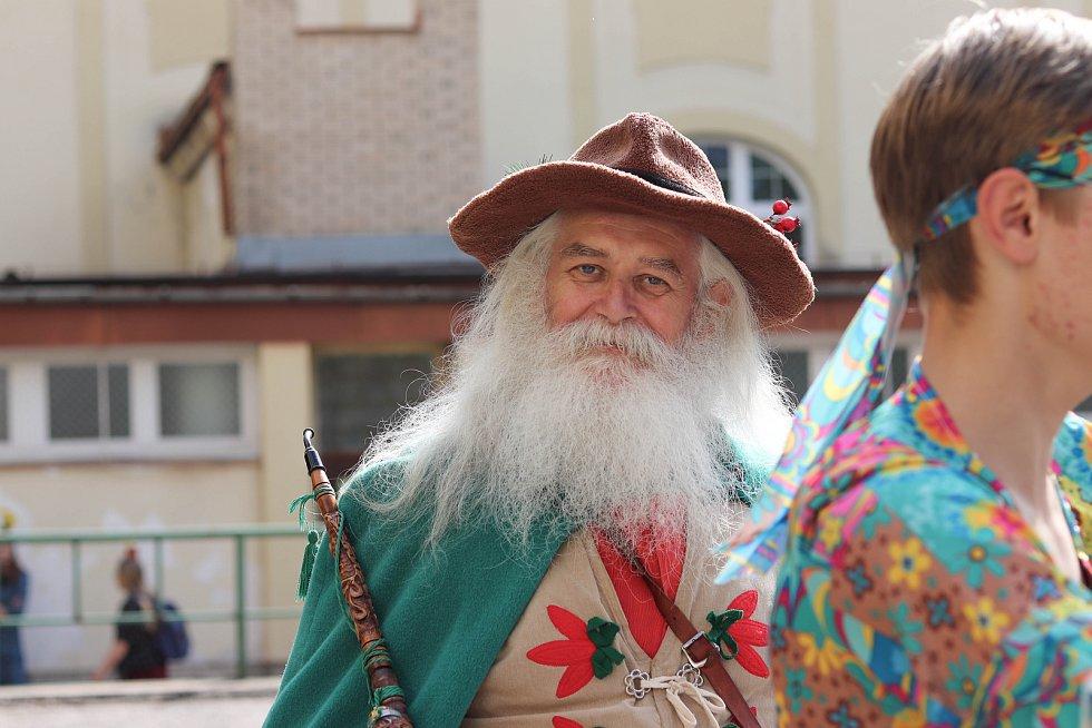 Majáles se konal ve Vrchlabí vůbec poprvé.