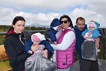Janský pochod pro dobrou věc z Janských Lázní na Černou horu.
