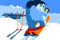 SnowSafe, to je nová aplikace Horské služby
