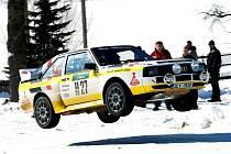 Jiří Ulip s Audi sport Quatro létal opravdu vysoko.