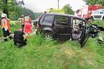 Smrtí dvou lidí skončila středeční havárie v úseku silnice mezi obcemi Choustníkovo Hradiště a Kocbeře.