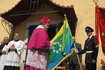 Biskup žehnal