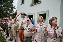 Den otevřených dveří skautského střediska Hraničář v Trutnově.