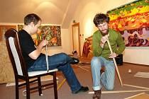 Galerie města Trutnova hostí do 30. listopadu výstavu Malba II...rules, práce studentů brněnské Fakulty výtvarných umění VUT.