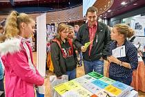 Prezentace středních škol a místních firem