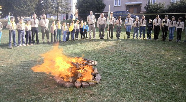 Skauti zHraničáře oslavili svůj svátek spředstihem