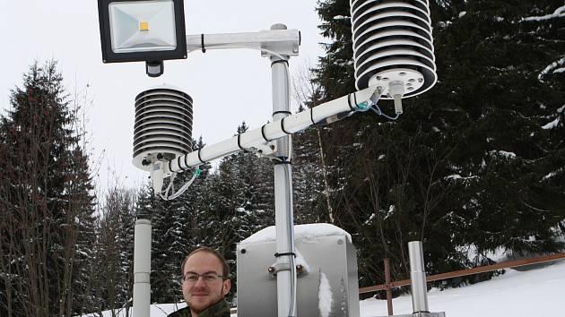 """""""Předpovědi na čtrnáct dní nebo dokonce měsíc dopředu, to je největší děs pro meteorology. To je věštění z koule. Pravděpodobnost správné předpovědi je taková, jako hodit si korunou,"""" říká Tomáš Prouza z profesionální meteorologické stanice ČHMÚ v Peci."""