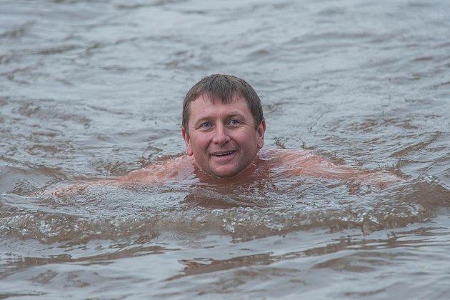 Otužilecké plavání - ilustrační snímek.