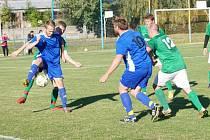 Fotbalisté Mostku v sobotu obrali o bod favorita z Hostinného.