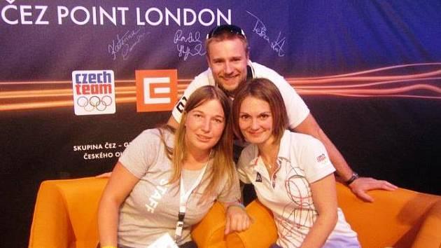 Královédvorská softbalistka Anna Laubová vypomáhala při Olympijských hrách v Londýně