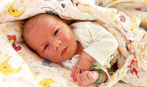 VERONIKA GANDURSKÁ se narodila 11. října v 6.28 hodin Pavlíně Gandurské a Davidu Školníkovi. Vážila 3,31 kg a měřila 50 cm. Rodina bydlí ve Dvoře Králové.