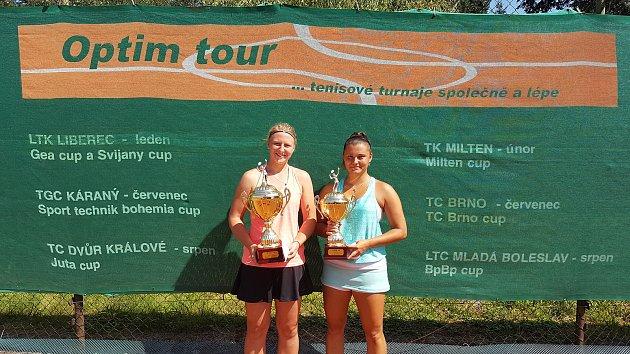 Vítězkou ženské dvouhry byla Nikola Tomanová, která ve finále zdolala Sabinu Machalovou.
