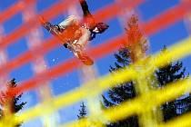 Quiksilver Snowjam, největší freestyle snowboardové závody v České republice, Pec p. Sněžkou, sjezdovka Javor, 15. března 2008