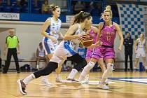 Ženská basketbalová liga - 19. kolo: BK Loko Trutnov - Teamstore Brno 103:74.