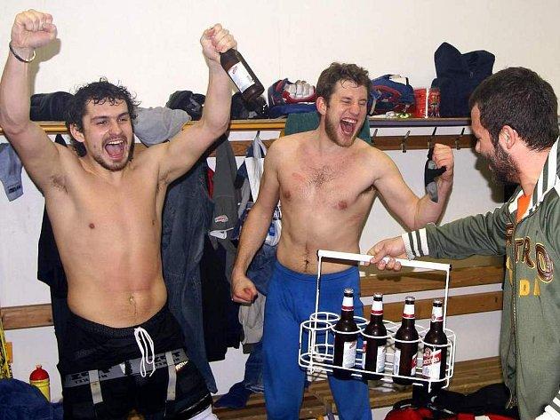 Oslavy hokejistů