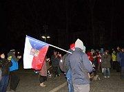 Festival svobody ve Vrchlabí.