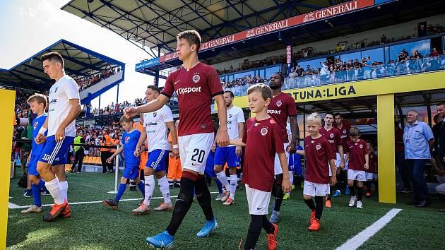 Sparťanský dres Matouši Rybovi sluší a radost v něm dělá nejen svým rodičům, ale i trenérům pražského klubu.