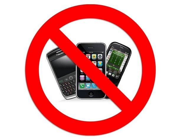 Bez telefonů a tabletů