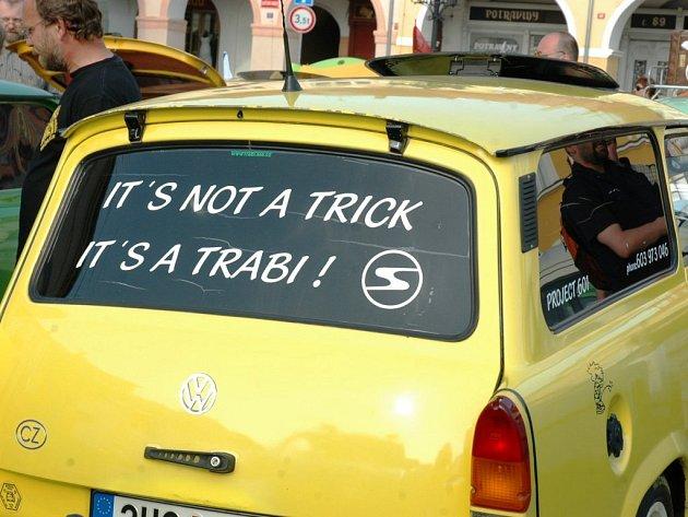 Sraz příznivců značky Trabant