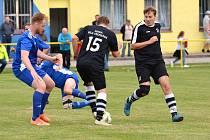 Překvapením skončilo derby mezi fotbalisty Mostku a Bílé Třemešné.