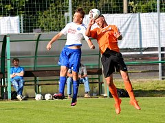 V utkání 25. kola krajského přeboru Libereckého kraje se utkaly celky Sedmihorek a Bozkova. Pojizerské derby skončilo nerozhodným výsledkem 1:1.